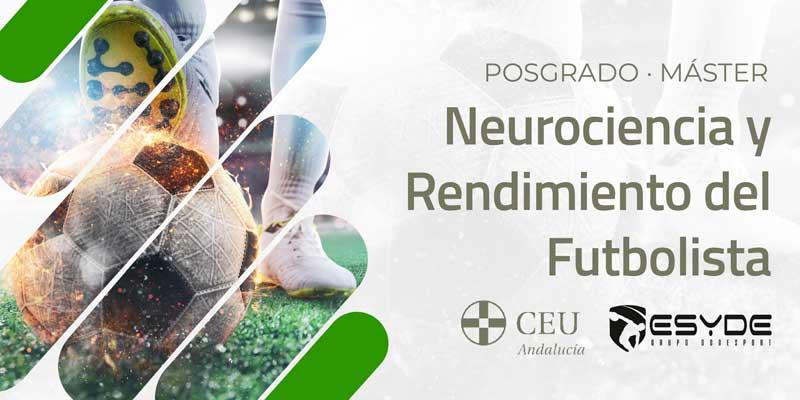 Máster Neurociencia y Rendimiento del Futbolista