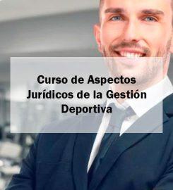 Curso de Aspectos Jurídicos de la Gestión Deportiva