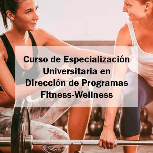 EFAD Curso de Especialización Universitaria en Dirección de Programas Fitness-Wellness Estudia Deporte