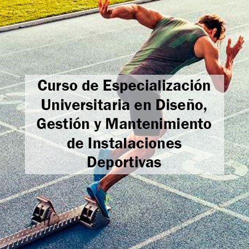 EFAD Curso de Especialización Universitaria en Diseño, Gestión y Mantenimiento de Instalaciones Deportivas Estudia Deporte