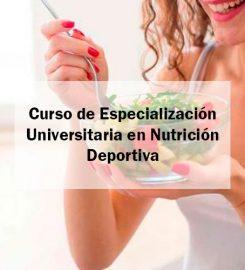 Curso de Especialización en Nutrición Deportiva
