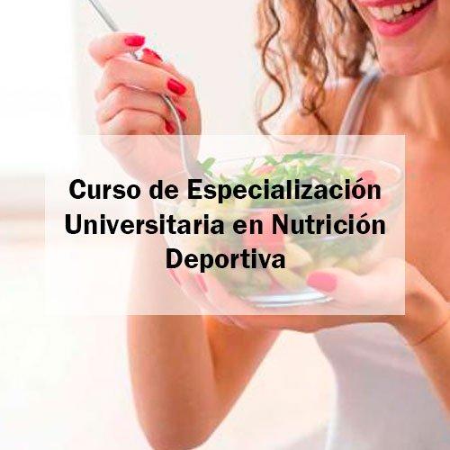 EFAD Curso de Especialización Universitaria en Nutrición Deportiva Estudia Deporte