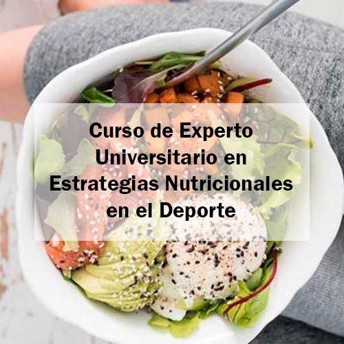 EFAD Curso de Experto Universitario en Estrategias Nutricionales en el Deporte Estudia Deporte