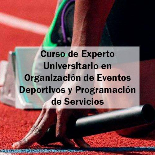 EFAD Curso de Experto Universitario en Organización de Eventos Deportivos y Programación de Servicios Estudia Deporte