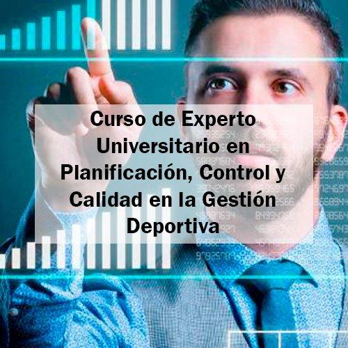 EFAD Curso de Experto Universitario en Planificación, Control y Calidad en la Gestión Deportiva Estudia Deporte