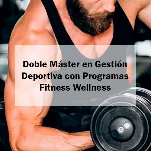EFAD Doble Máster en Gestión Deportiva con Programas Fitness Wellness Estudia Deporte