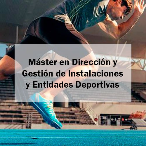 EFAD Máster en Dirección y Gestión de Instalaciones y Entidades Deportivas Estudia Deporte