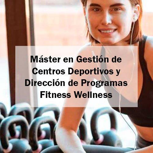 EFAD Máster en Gestión de Centros Deportivos y Dirección de Programas Fitness Wellness Estudia Deporte