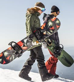 Snowboard Tándem Madrid