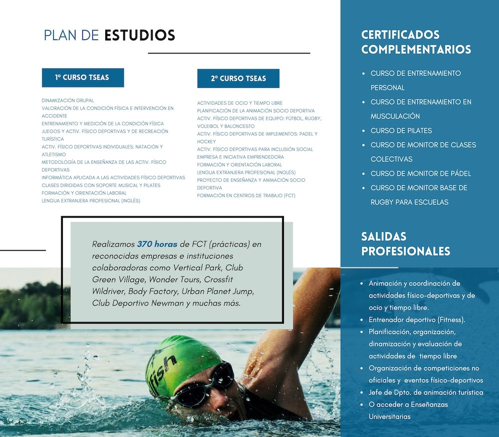 TSEAS Colegio Nicoli Estudia Deporte