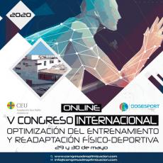 V Congreso Internacional de Optimización del Entrenamiento y Readaptación Físico-Deportiva Estudia Deporte