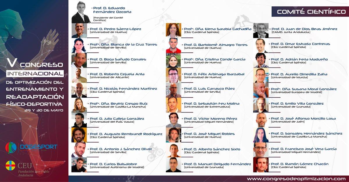 V Congreso Internacional de Optimización del Entrenamiento y Readaptación Físico-Deportiva